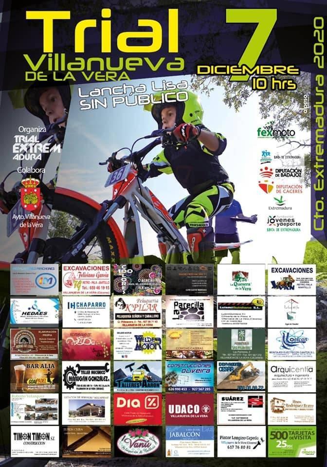 Campeonato de Extremadura de trial (2020) - Villanueva de la Vera (Cáceres)