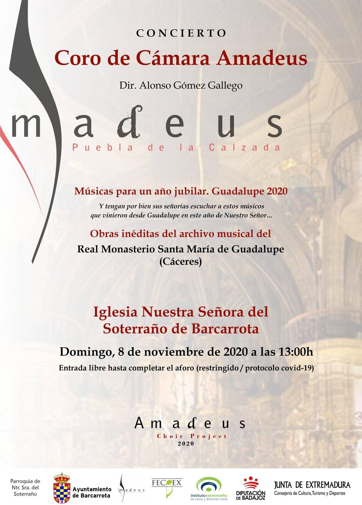 Concierto del Coro Amadeus (2020) - Barcarrota (Badajoz)