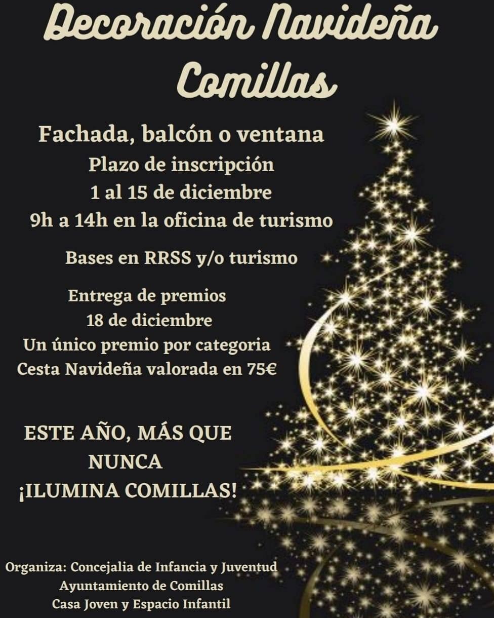 Concurso de decoración navideña (2020) - Comillas (Cantabria)