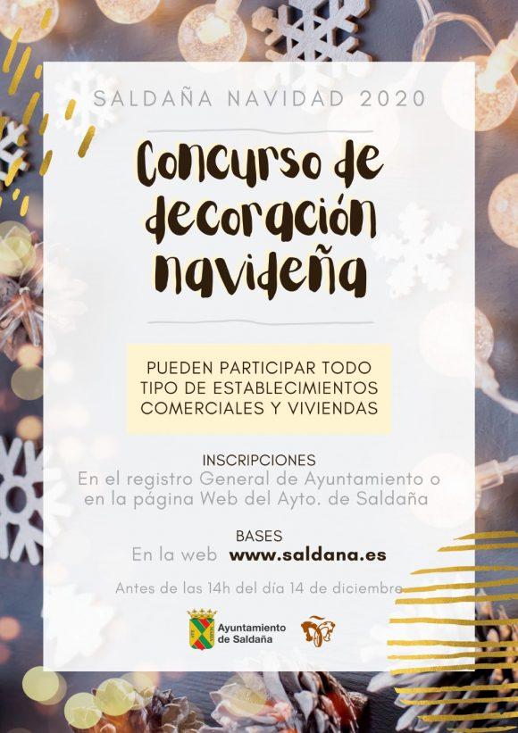 Concurso de decoración navideña (2020) - Saldaña (Palencia)