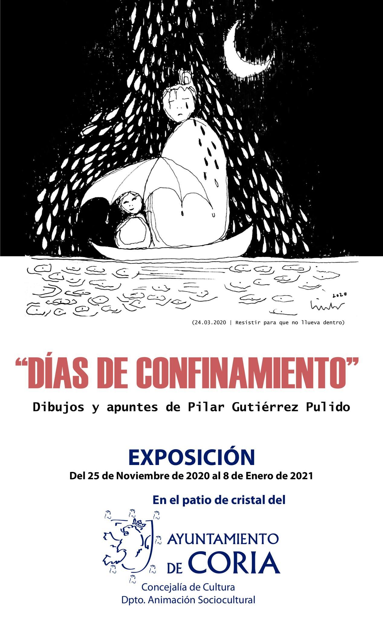 Exposición Días de Confinamiento (2020-2021) - Coria (Cáceres)