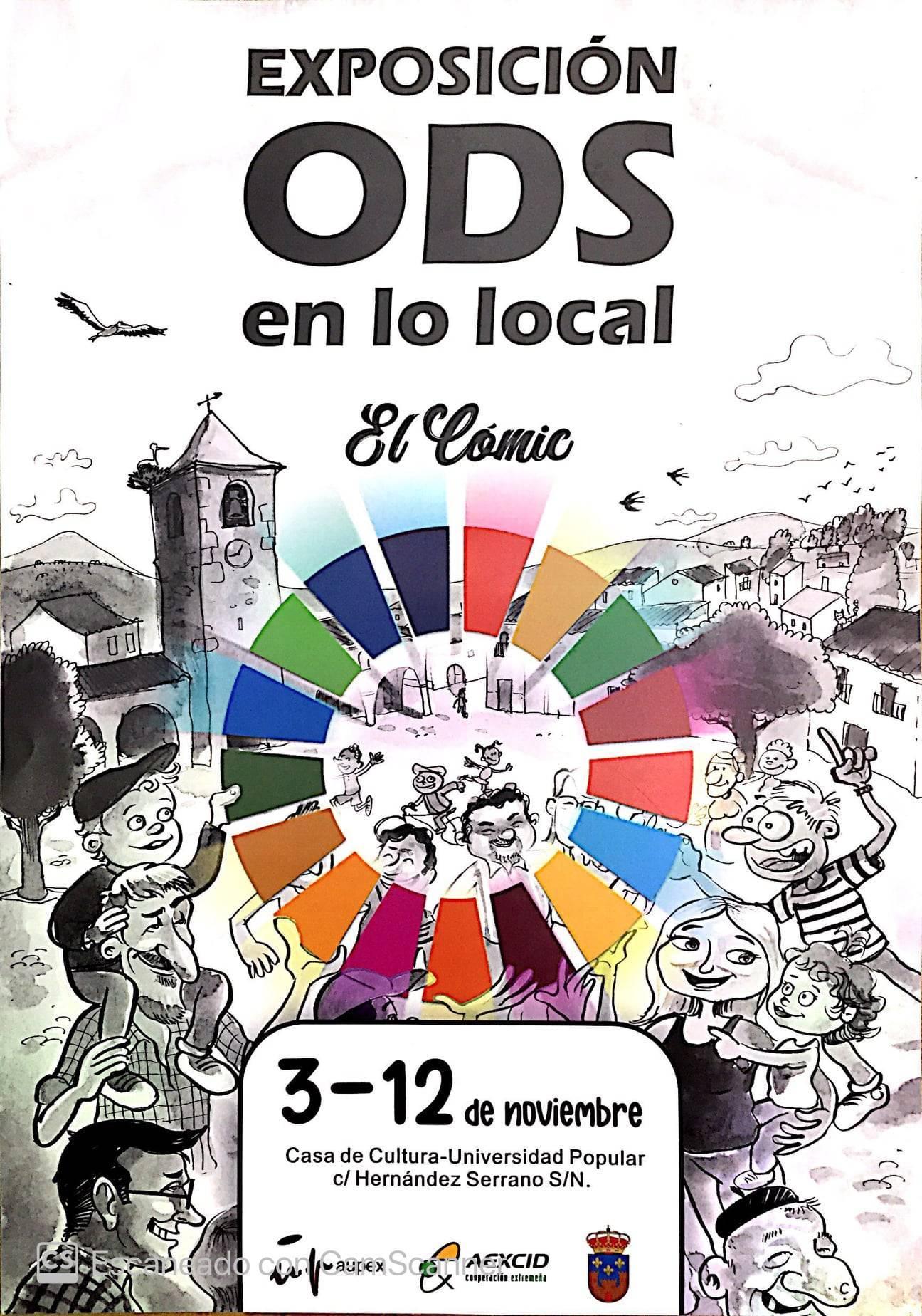 Exposición ODS en lo local (2020) - Logrosán (Cáceres)