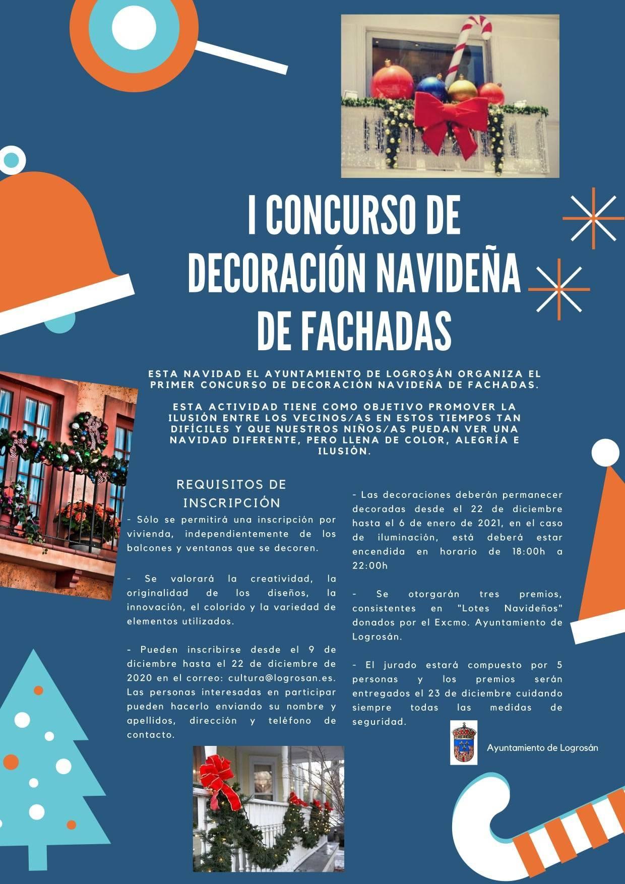 I concurso de decoración navideña de fachadas - Logrosán (Cáceres)