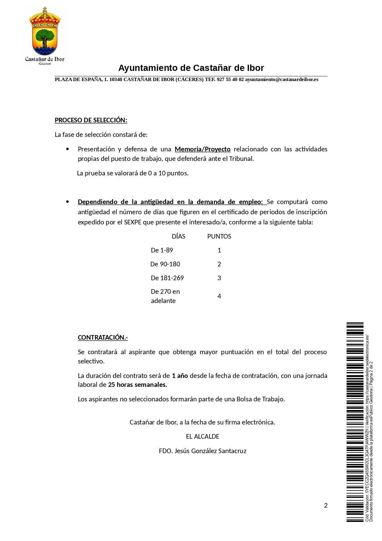 Maestro especialista en educación infantil (2020) - Castañar de Ibor (Cáceres) 2