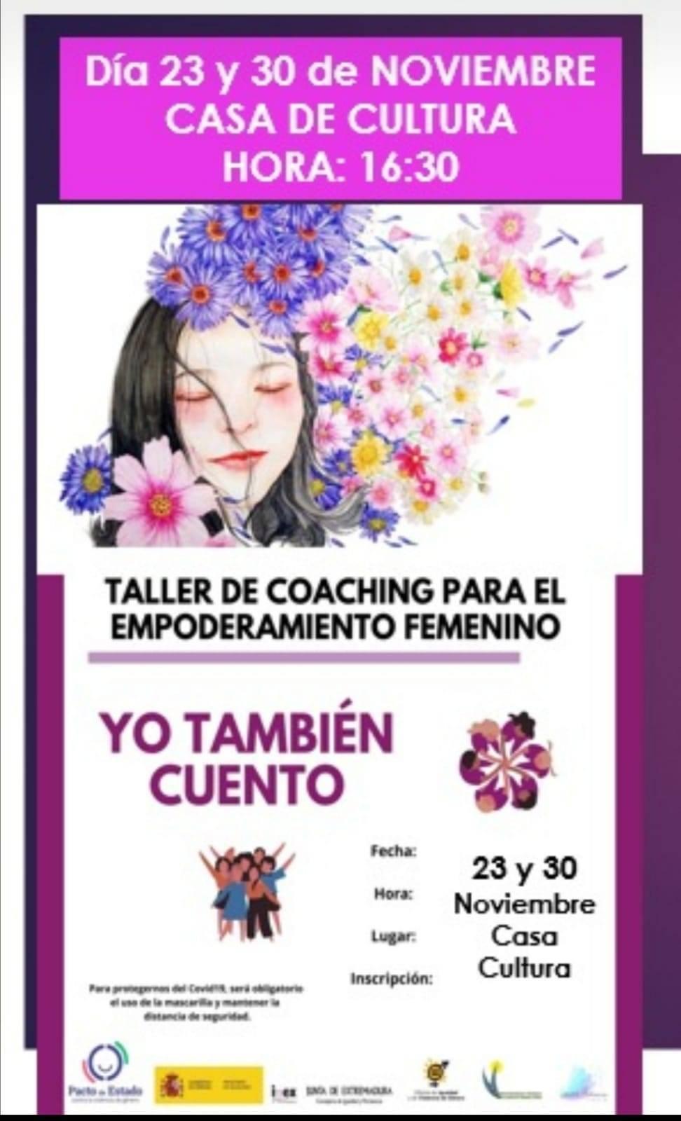Taller de coaching para el empoderamiento femenino (2020) - Logrosán (Cáceres)