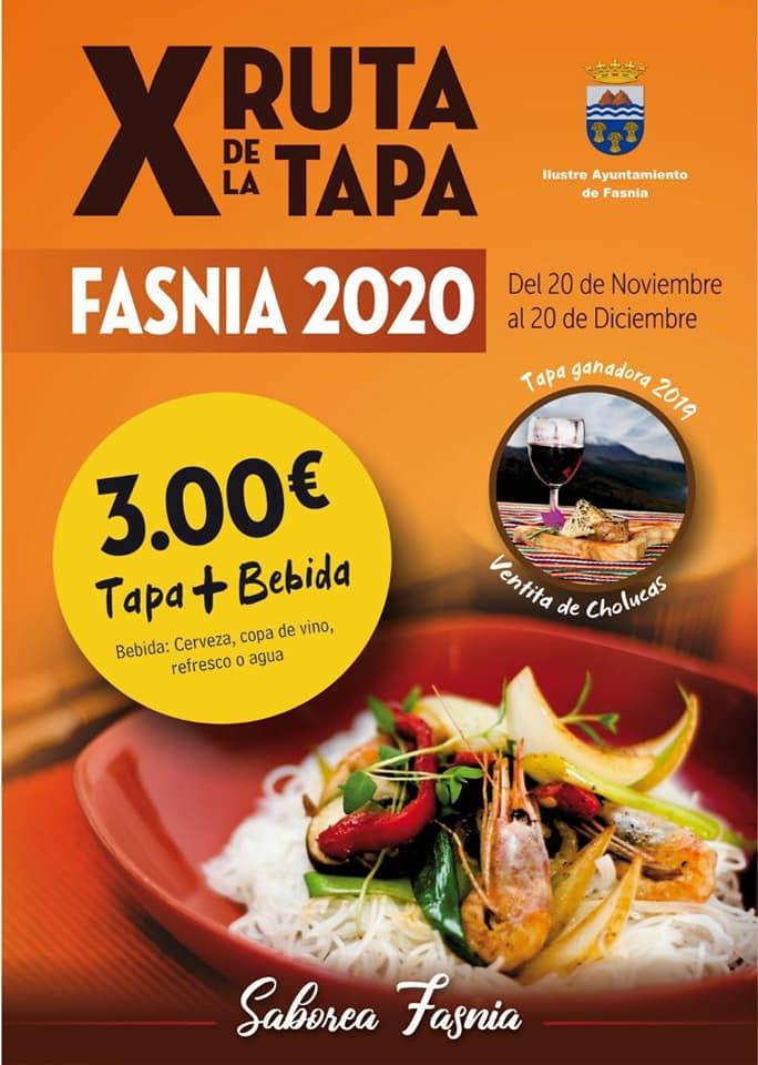 X ruta de la tapa - Fasnia (Santa Cruz de Tenerife)
