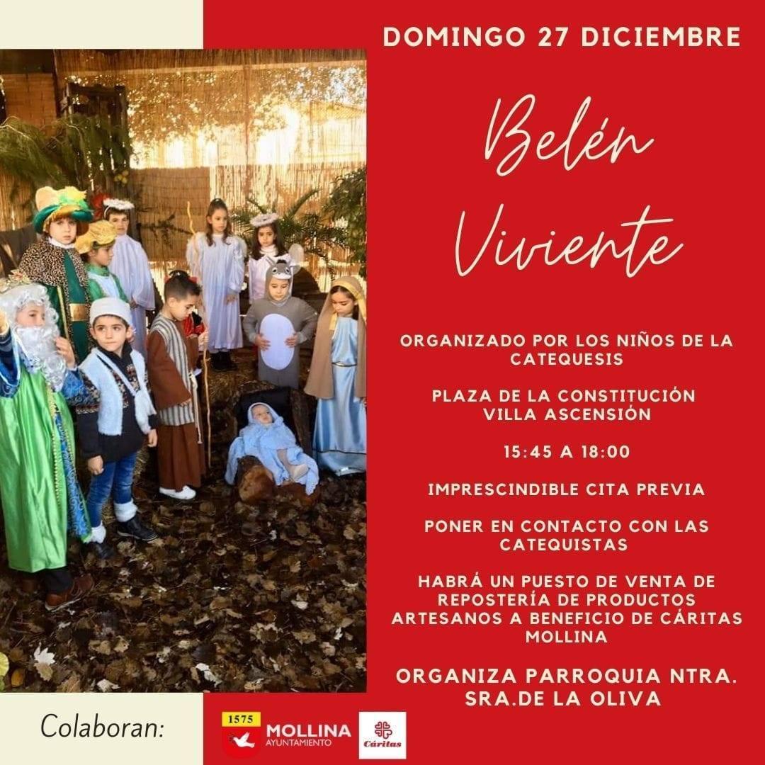 Belén viviente (2020) - Mollina (Málaga)
