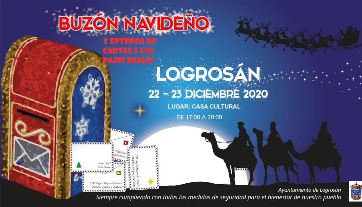 Buzón navideño (2020) - Logrosán (Cáceres)