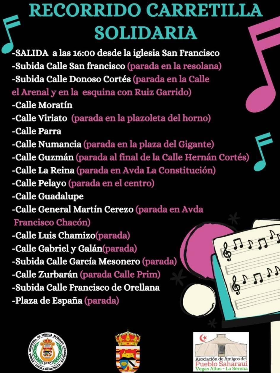 Carretilla solidaria (2021) - Puebla de Alcocer (Badajoz) 3