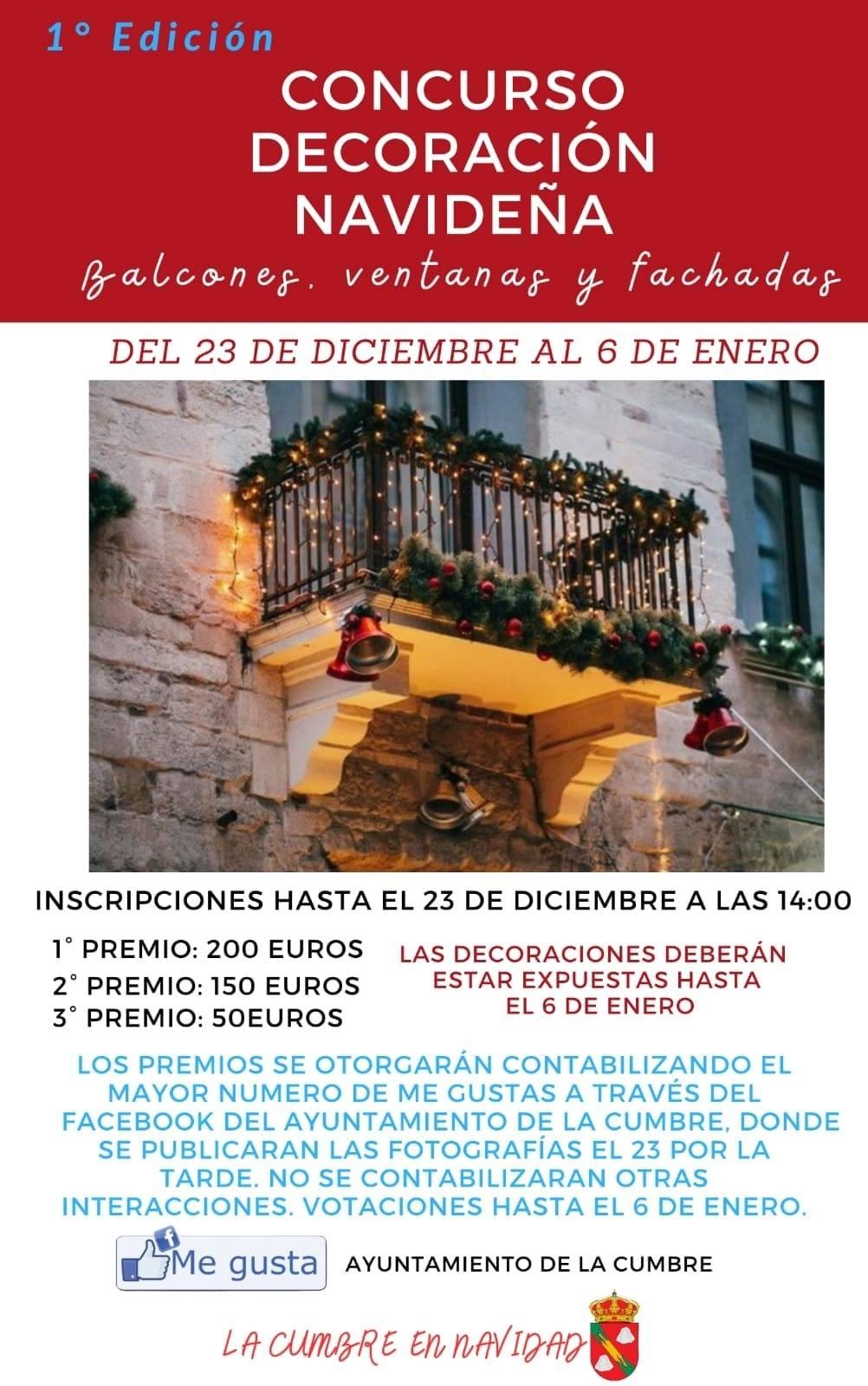 Concurso de decoración navideña (2020-2021) - La Cumbre (Cáceres)