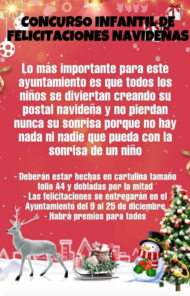Concurso infantil de felicitaciones navideñas (2020) - Cañamero (Cáceres)