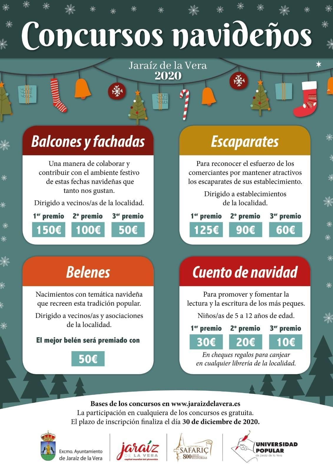Concursos navideños (2020) - Jaraíz de la Vera (Cáceres)