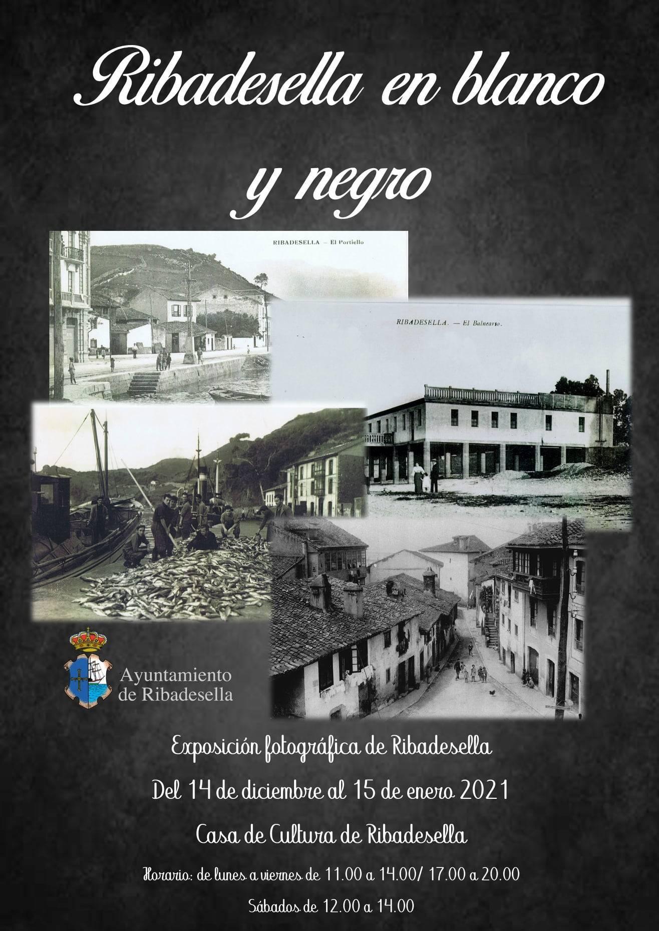 Exposición fotográfica en blanco y negro (2020-2021) - Ribadesella (Asturias)