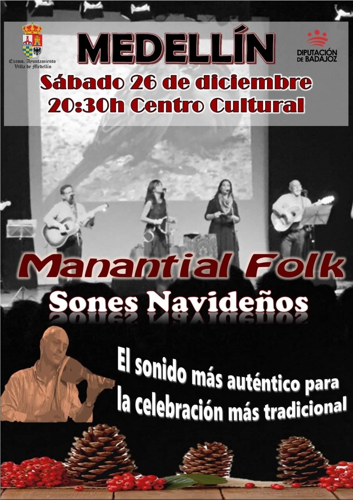 Manantial Folk (2020) - Medellín (Badajoz)
