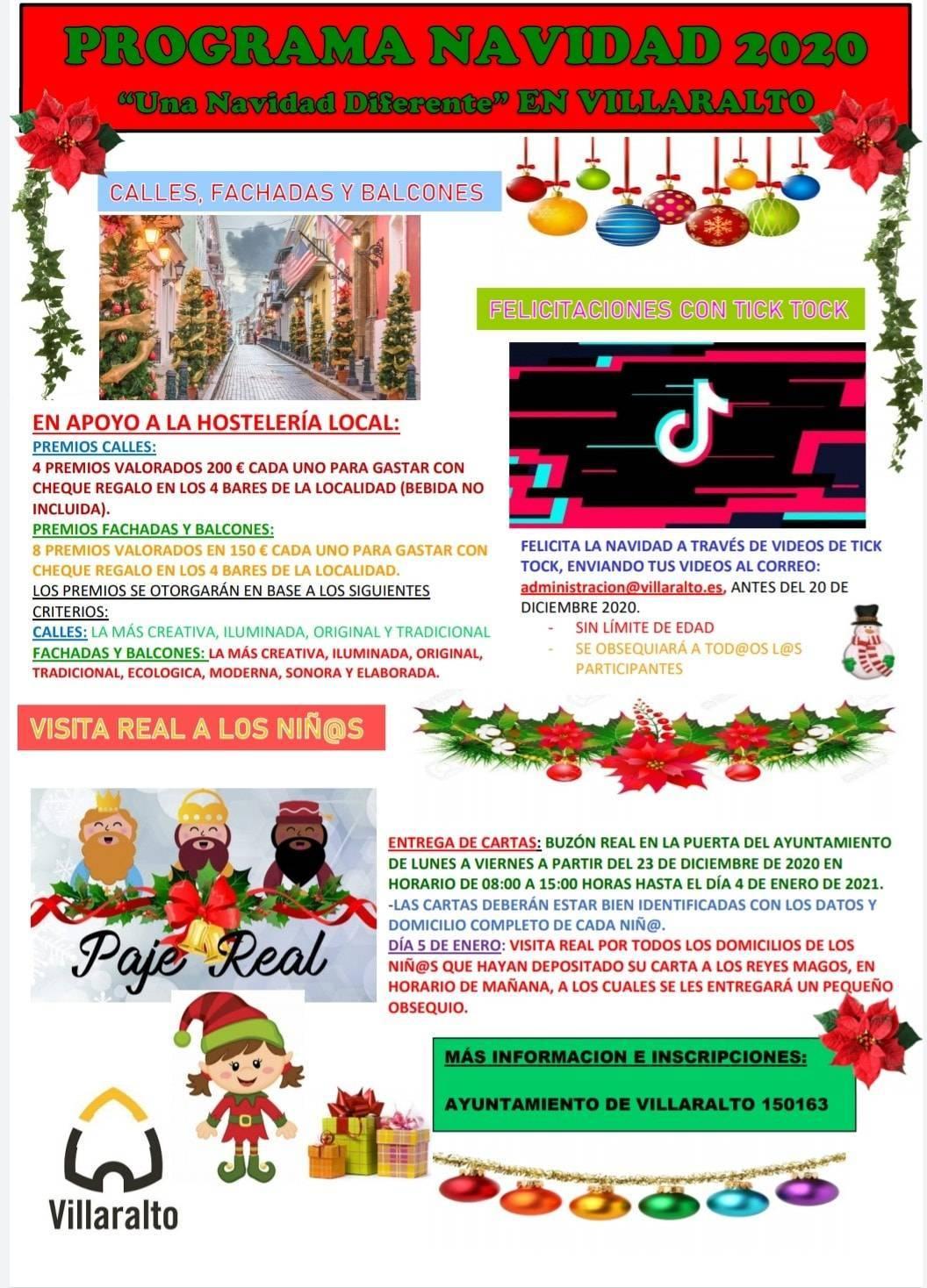 Programa de Navidad (2020-2021) - Villaralto (Córdoba)