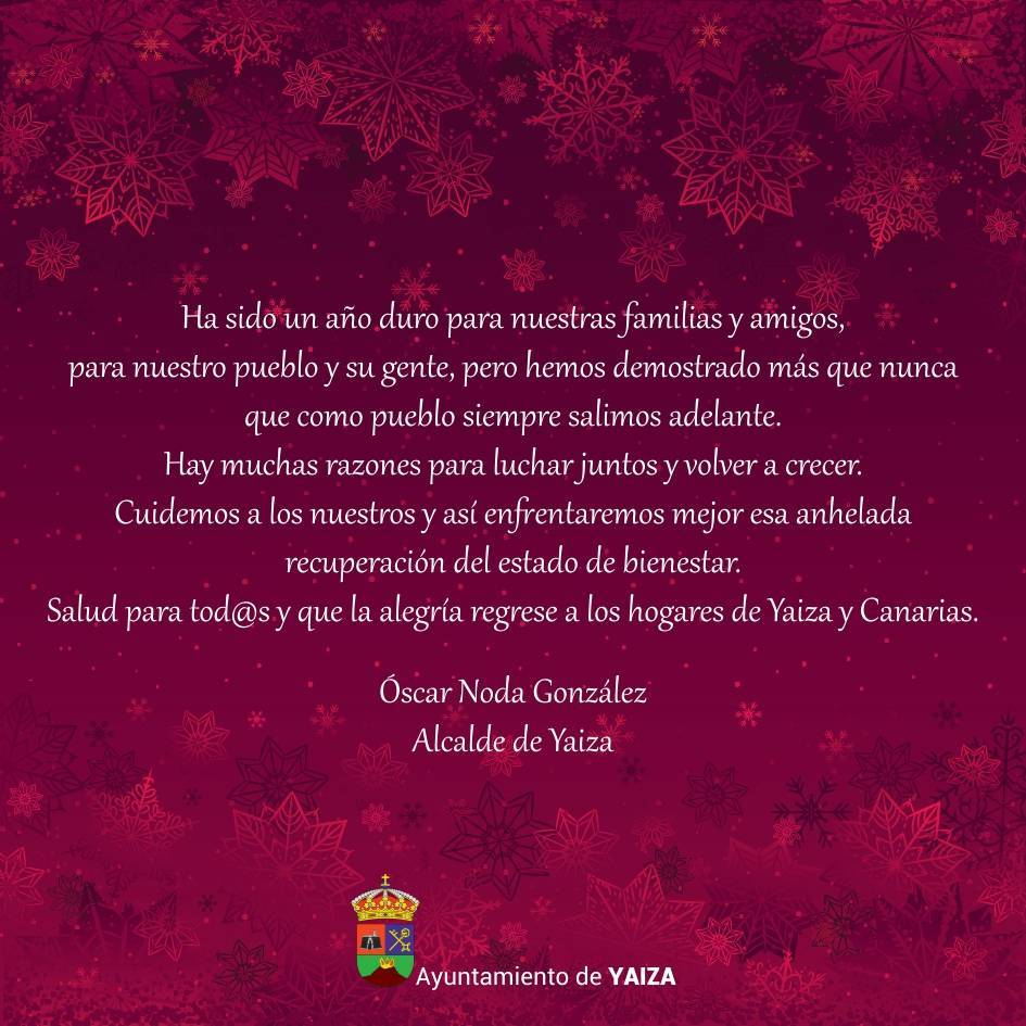 Programa de Navidad (2020-2021) - Yaiza (Las Palmas) 2
