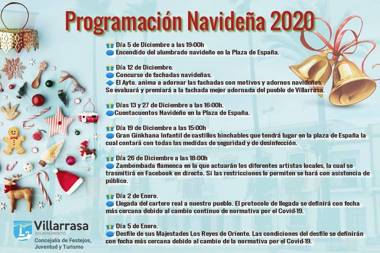 Programación navideña (2020-2021) - Villarrasa (Huelva)