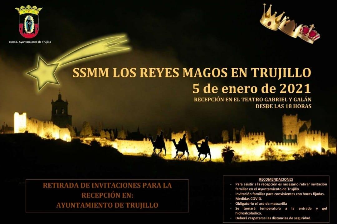 Recepción de los Reyes Magos (2021) - Trujillo (Cáceres)