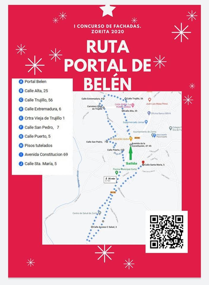 Rutas del I concurso de fachadas (2020) - Zorita (Cáceres) 1