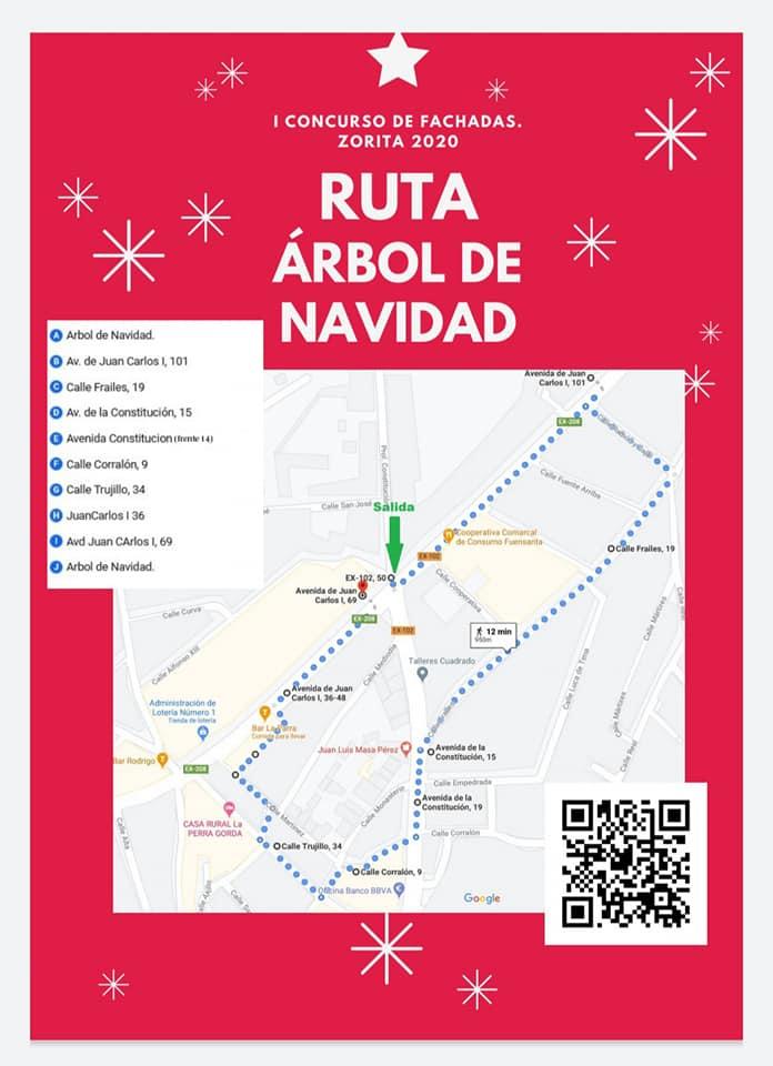Rutas del I concurso de fachadas (2020) - Zorita (Cáceres) 2