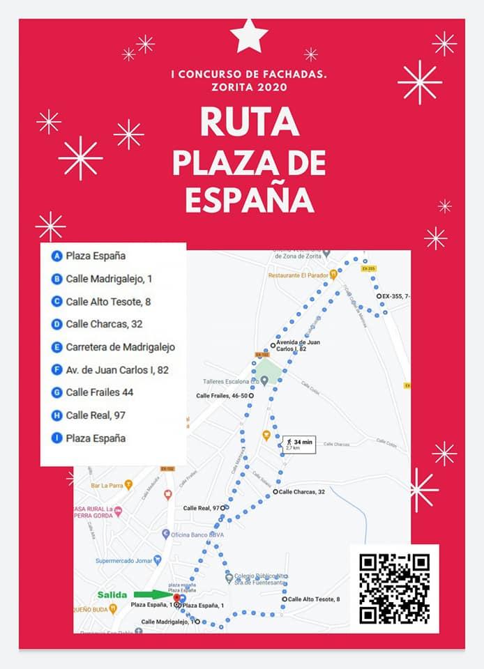 Rutas del I concurso de fachadas (2020) - Zorita (Cáceres) 3