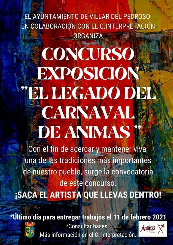 Concurso-exposición El legado del Carnaval de Ánimas (2021) - Villar del Pedroso (Cáceres)