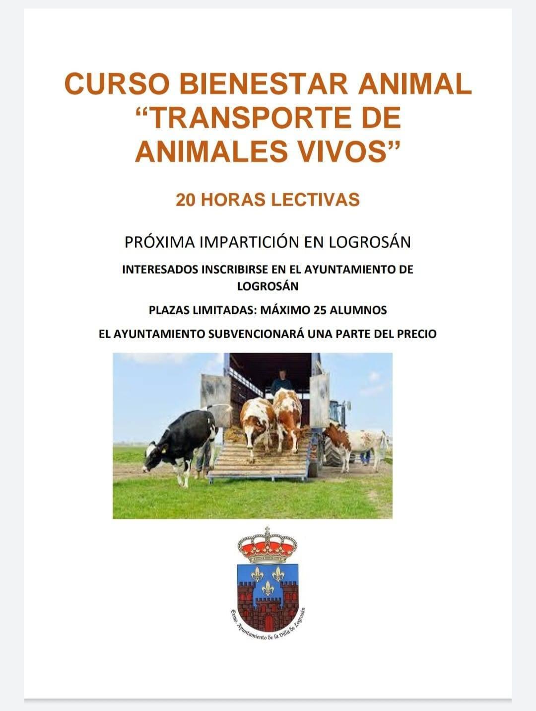 Curso de bienestar animal (2021) - Logrosán (Cáceres)