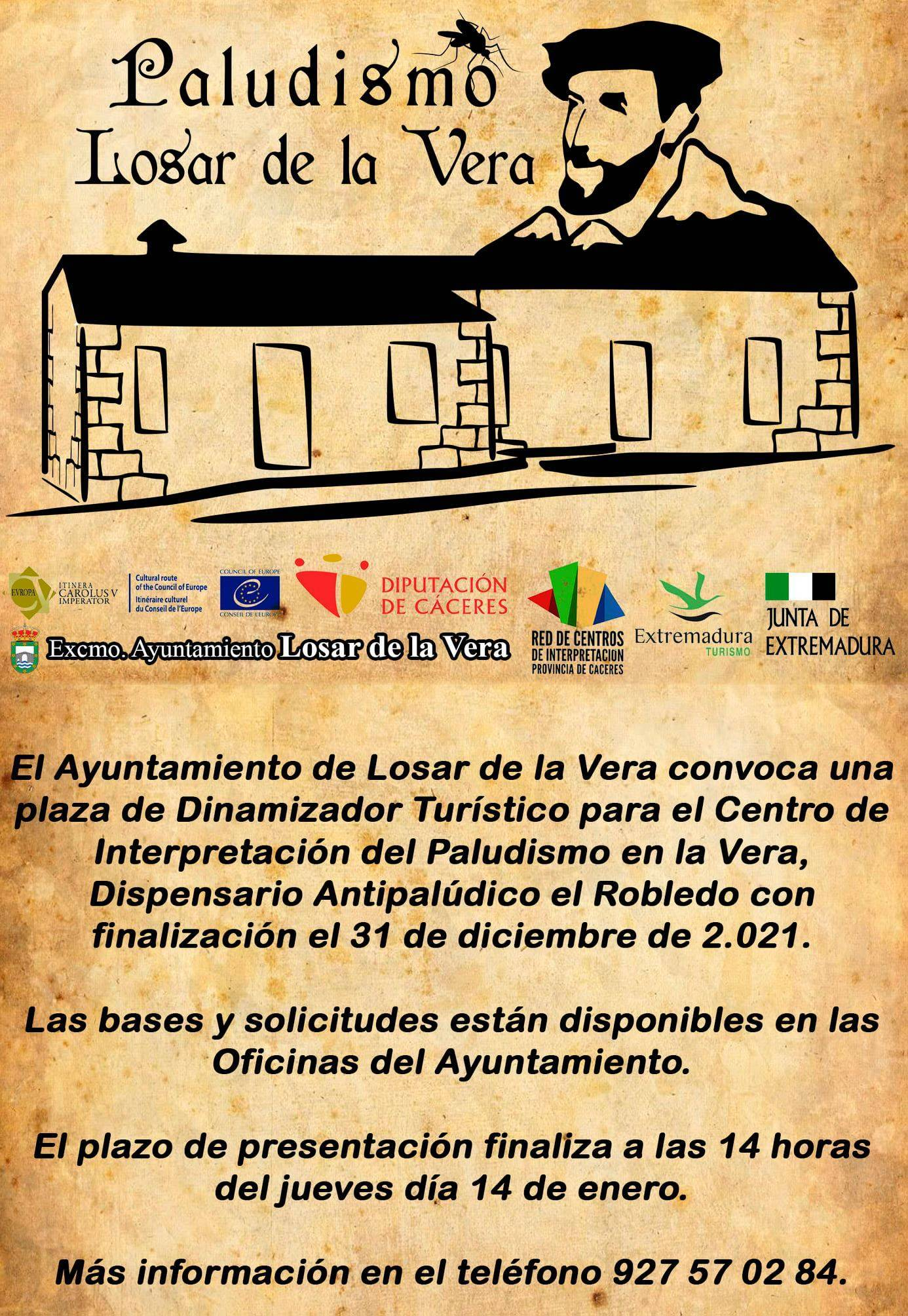 Dinamizador turístico (2021) - Losar de la Vera (Cáceres)