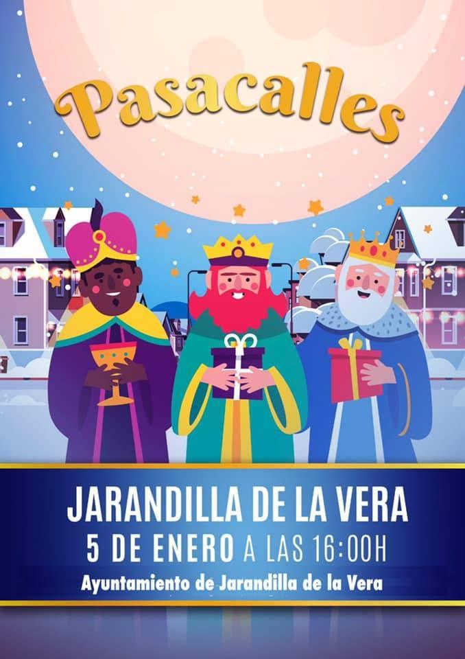 Pasacalles de Reyes Magos (2021) - Jarandilla de la Vera (Cáceres)