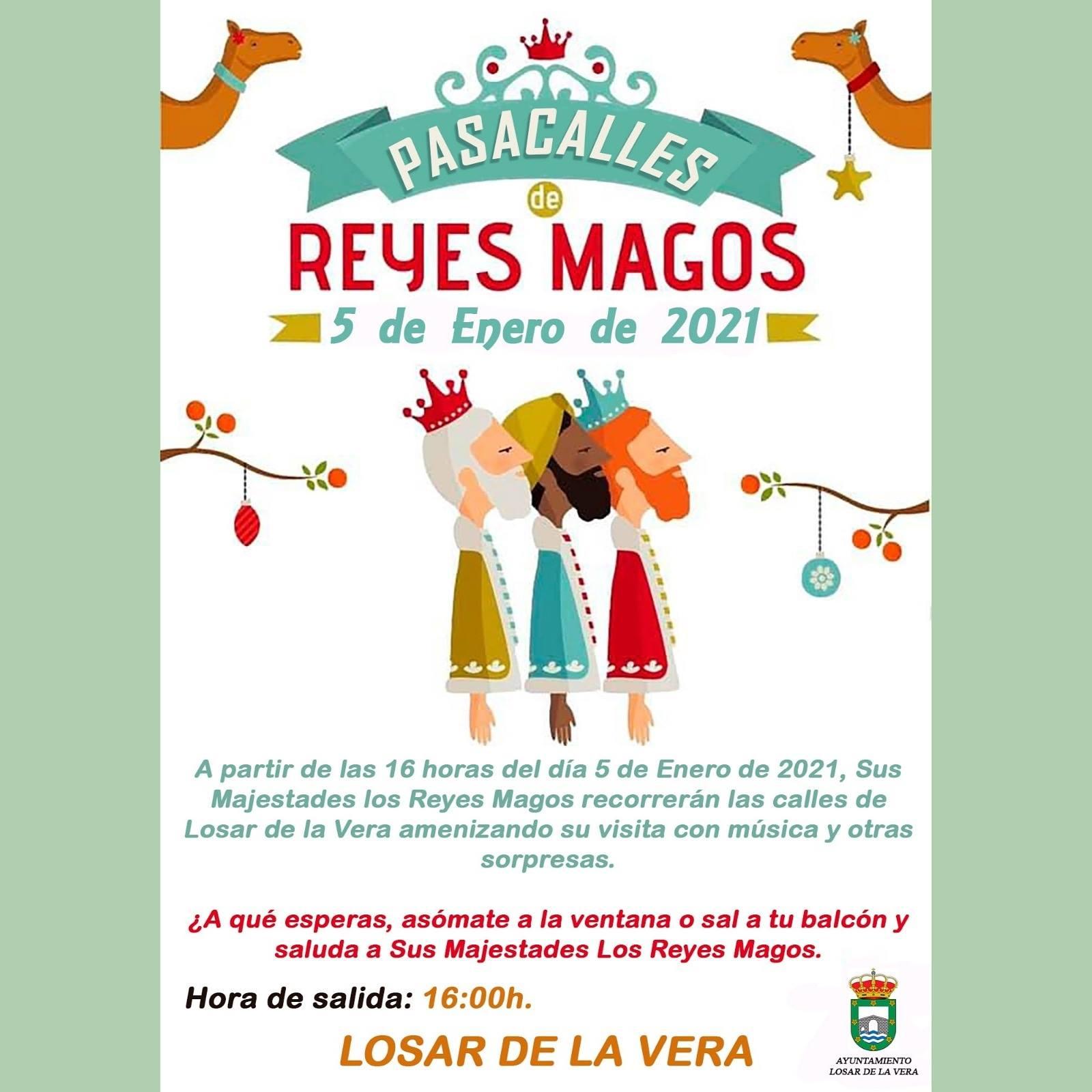 Pasacalles de Reyes Magos (2021) - Losar de la Vera (Cáceres)