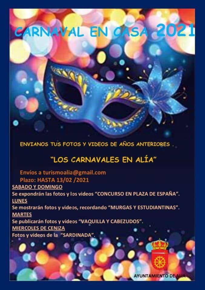 Carnaval en casa (2021) - Alía (Cáceres)