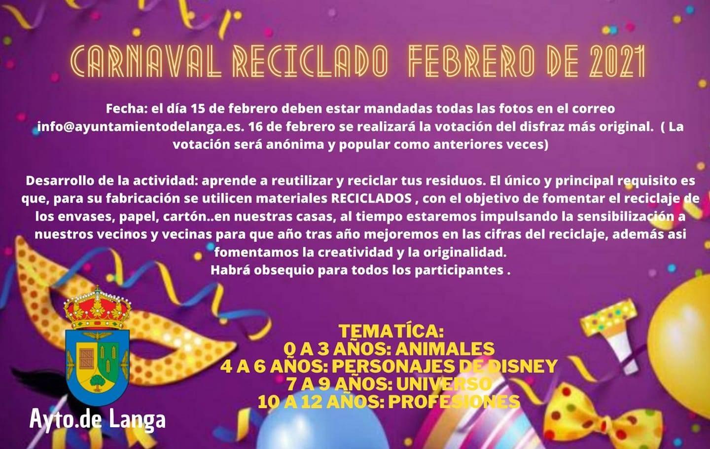 Carnaval reciclado (2021) - Langa (Ávila)