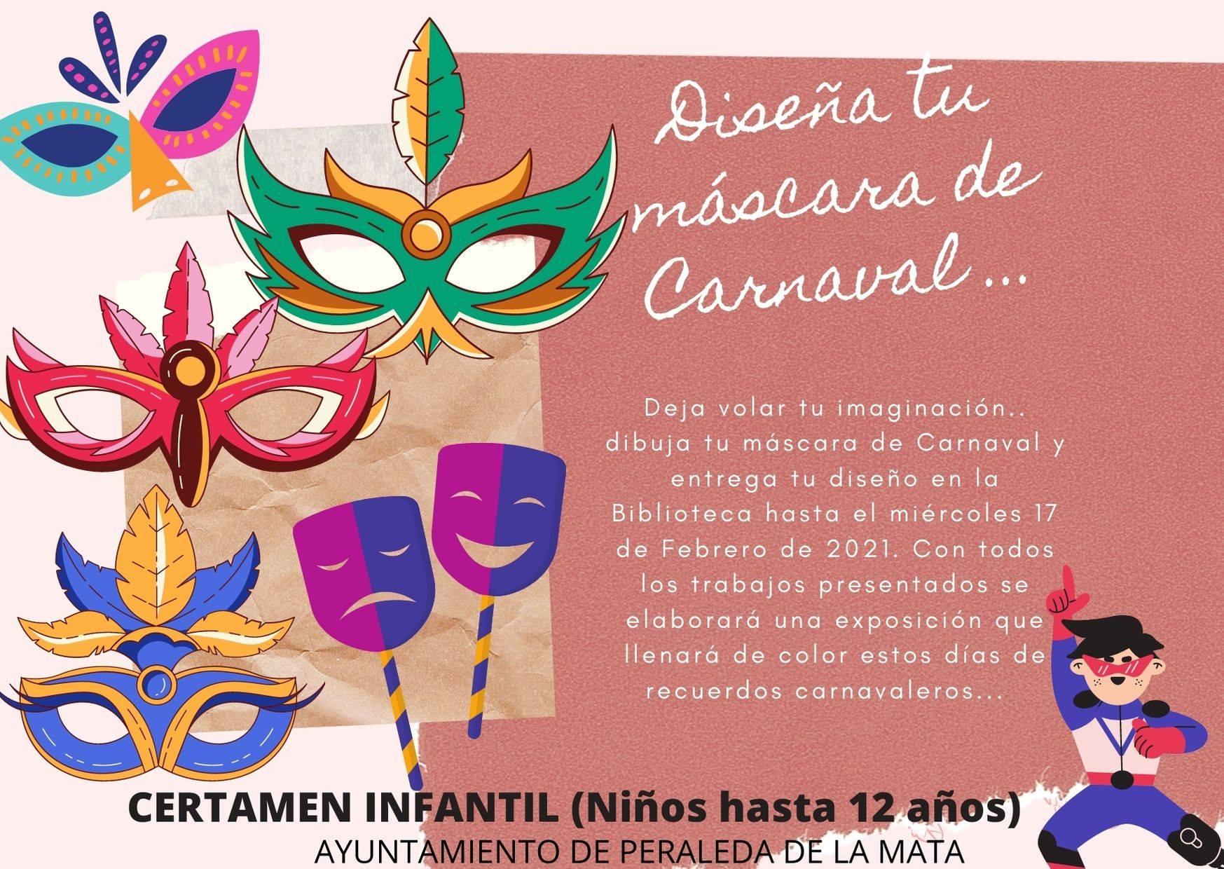 Certamen infantil de Carnaval (2021) - Peraleda de la Mata (Cáceres)
