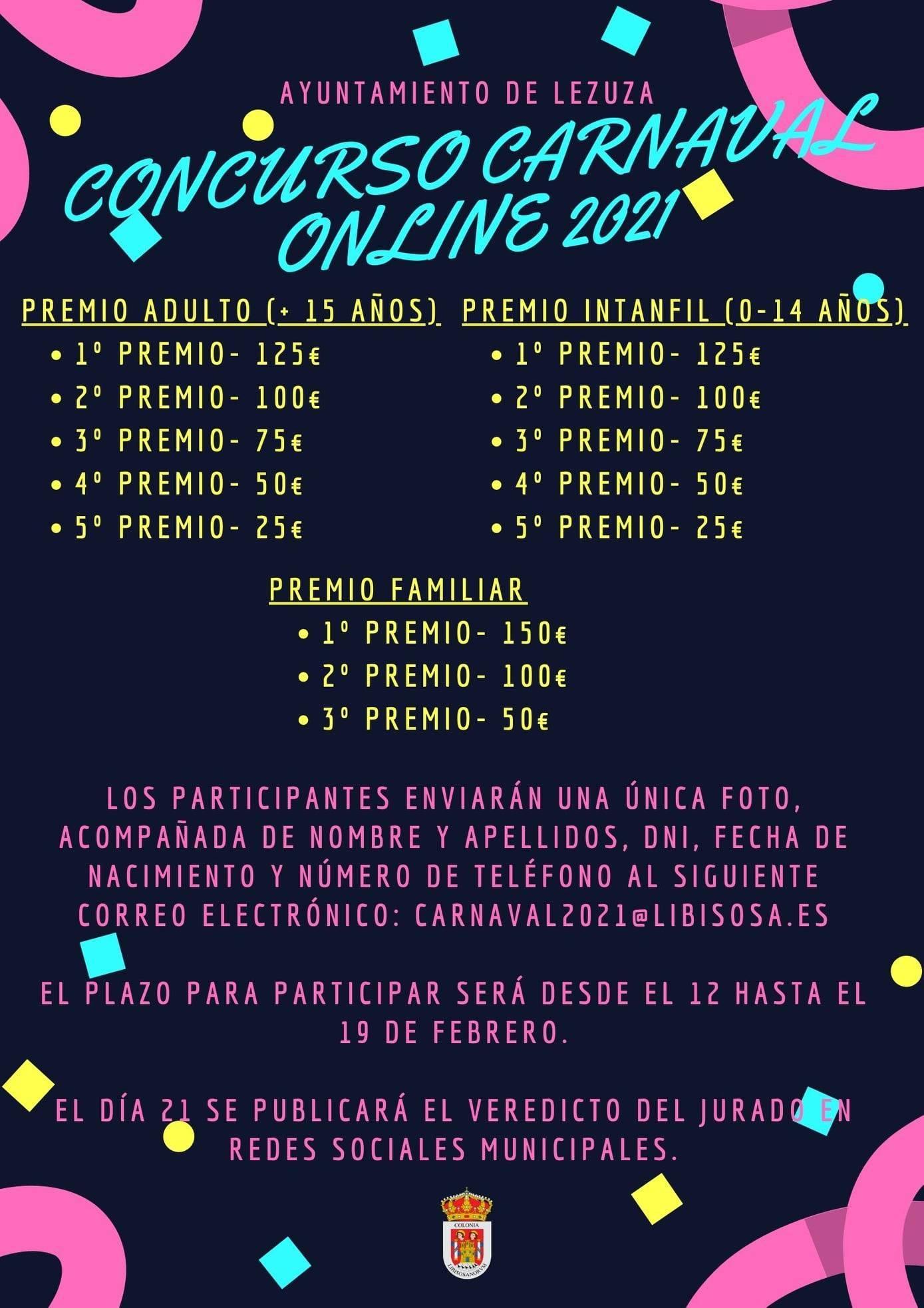Concurso de Carnaval online (2021) - Lezuza (Albacete)