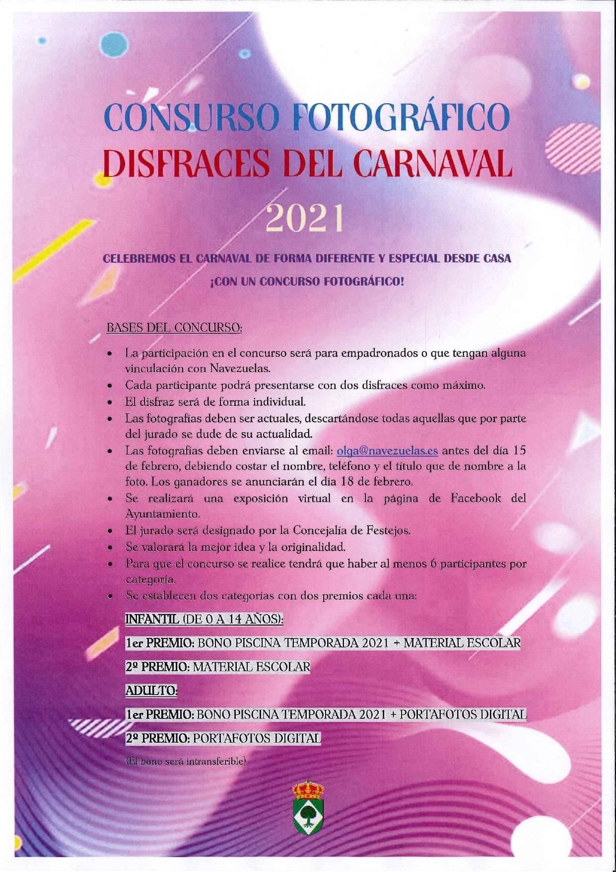 Concurso fotográfico de disfraces de carnaval (2021) - Navezuelas (Cáceres)