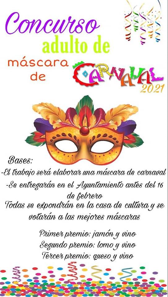 Concurso infantil y adulto de carnaval (2021) - Cañamero (Cáceres) 2