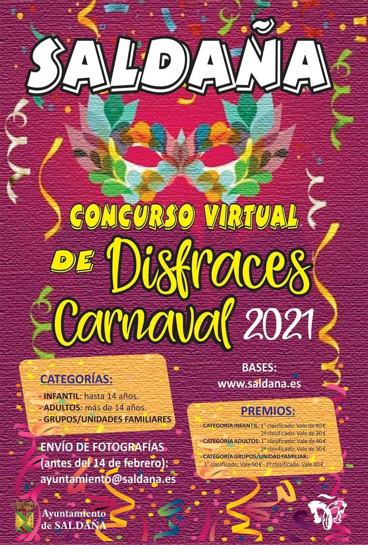 Concurso virtual de disfraces de carnaval (2021) - Saldaña (Palencia)