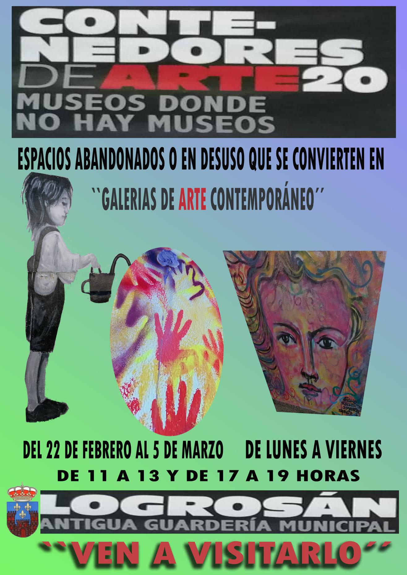 Contenedores de arte (2021) - Logrosán (Cáceres)