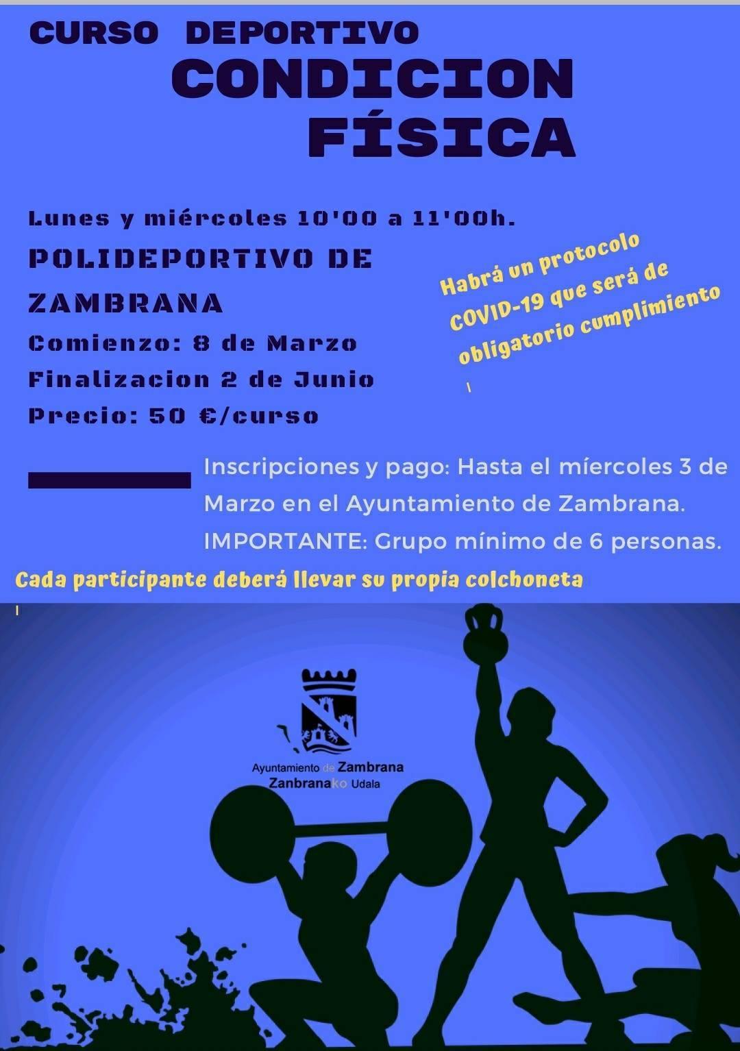 Curso de condición física (2021) - Zambrana (Álava)