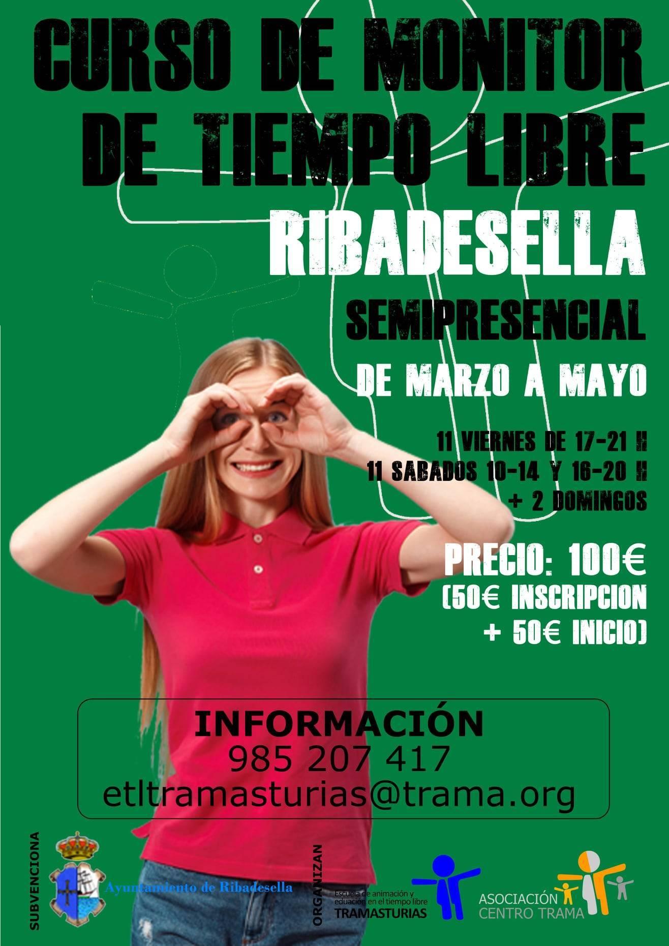 Curso de monitor de tiempo libre (2021) - Ribadesella (Asturias)