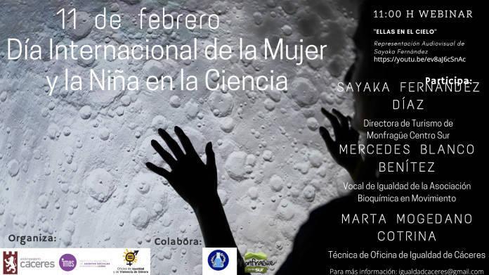 Día Internacional de la Mujer y la Niña en la Ciencia (2021) - Cáceres