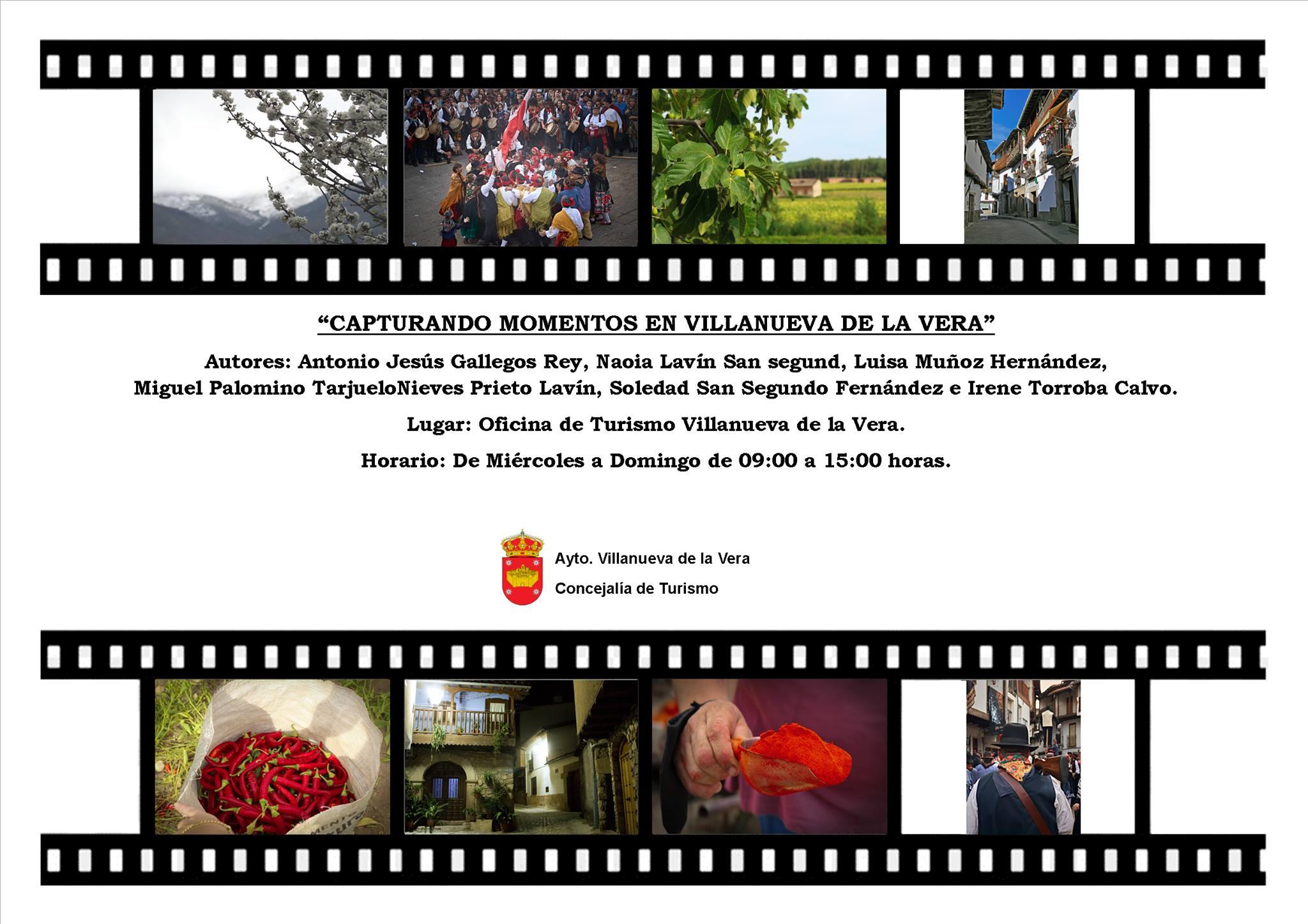 Exposición fotográfica Capturando momentos (2021) - Villanueva de la Vera (Cáceres)