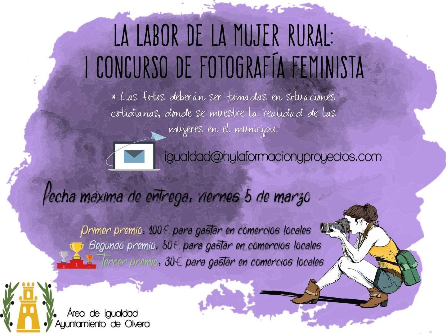 I concurso de fotografía feminista - Olvera (Cádiz) 1