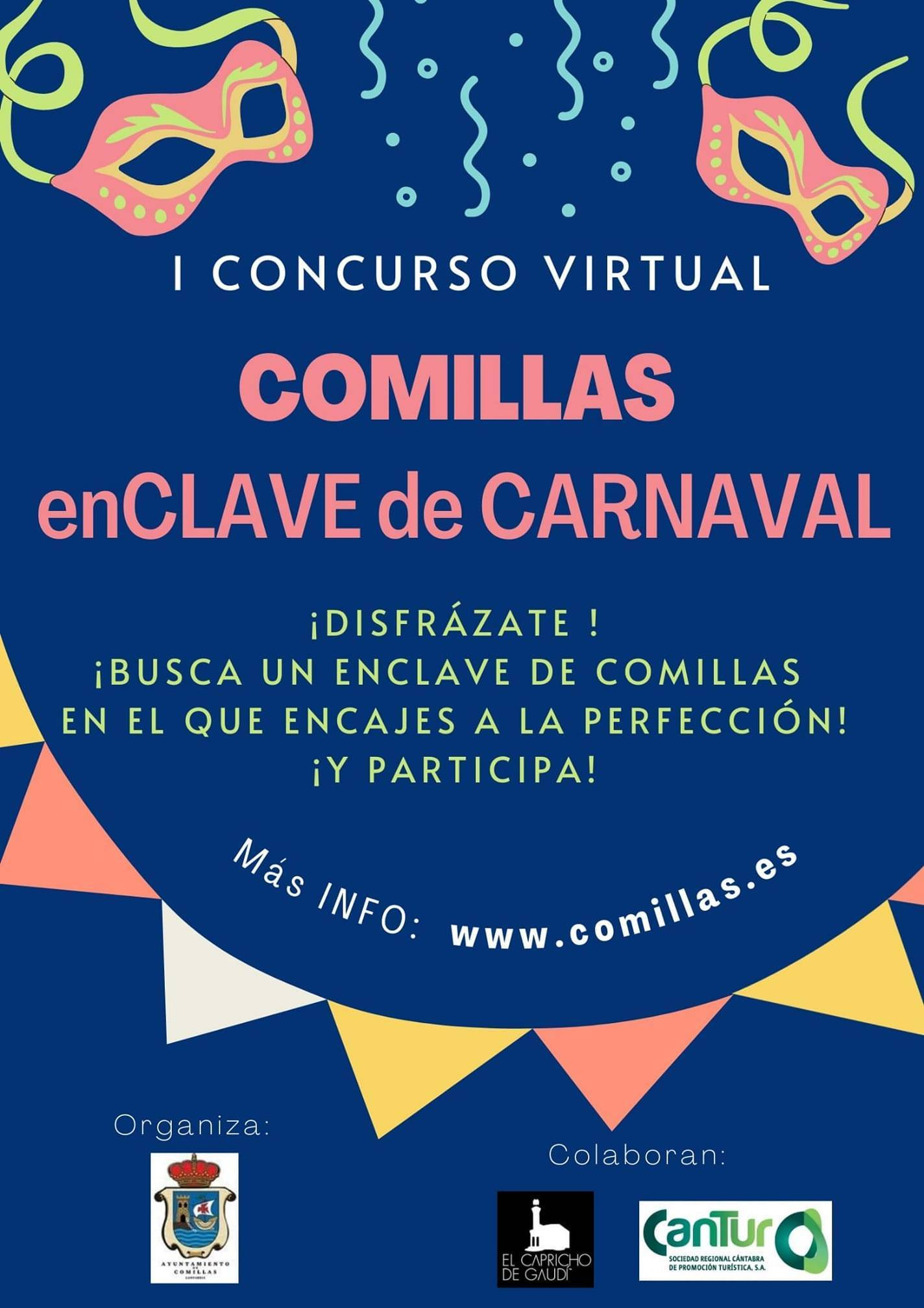 I concurso virtual de carnaval - Comillas (Cantabria)