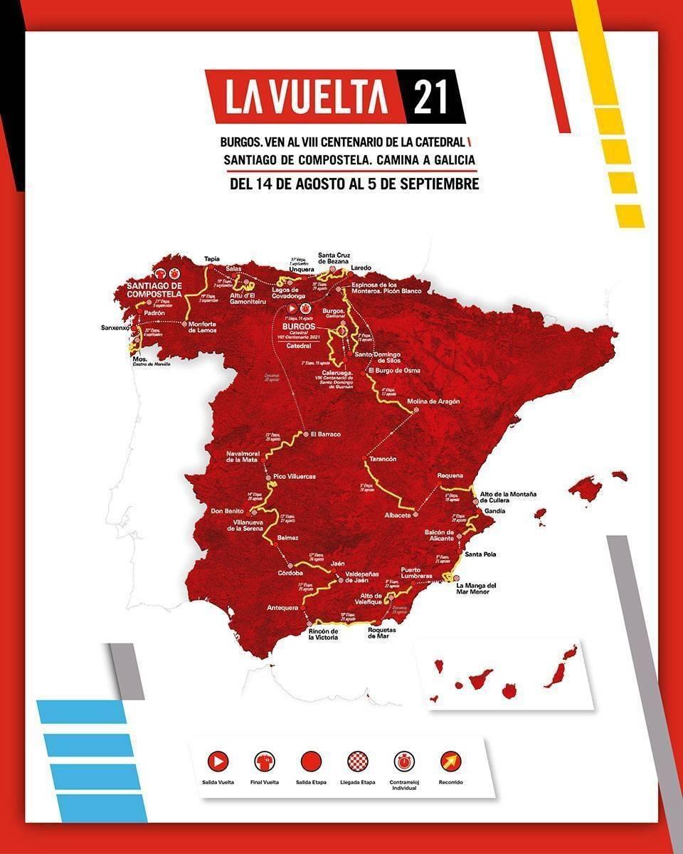 La Vuelta a España llegará al Pico Villuercas (2021) 3