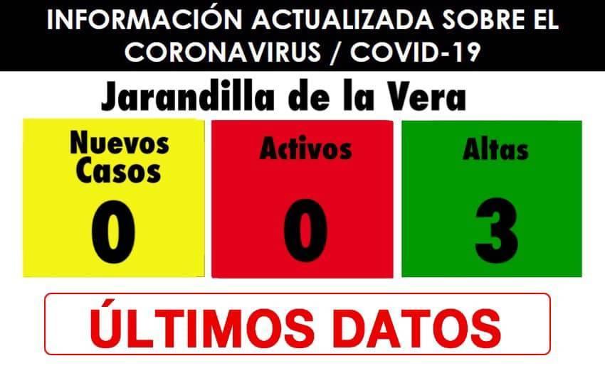 Libre de COVID-19 (febrero 2021) - Jarandilla de la Vera (Cáceres)