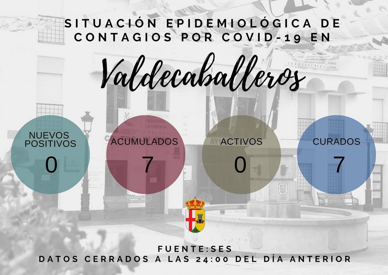 Libre de COVID-19 (febrero 2021) - Valdecaballeros (Badajoz)