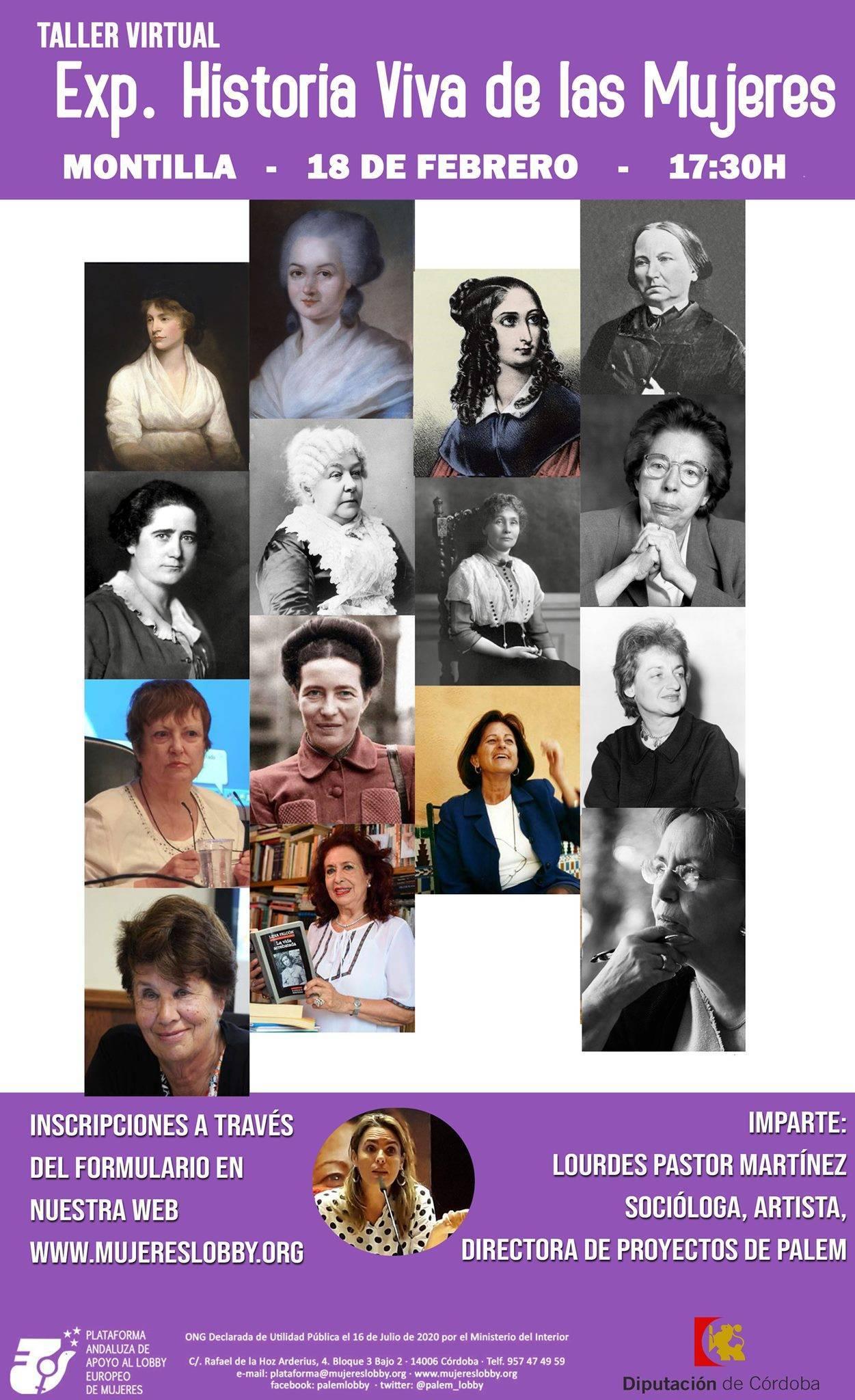 Taller de historia viva de las mujeres (2021) - Montilla (Córdoba)