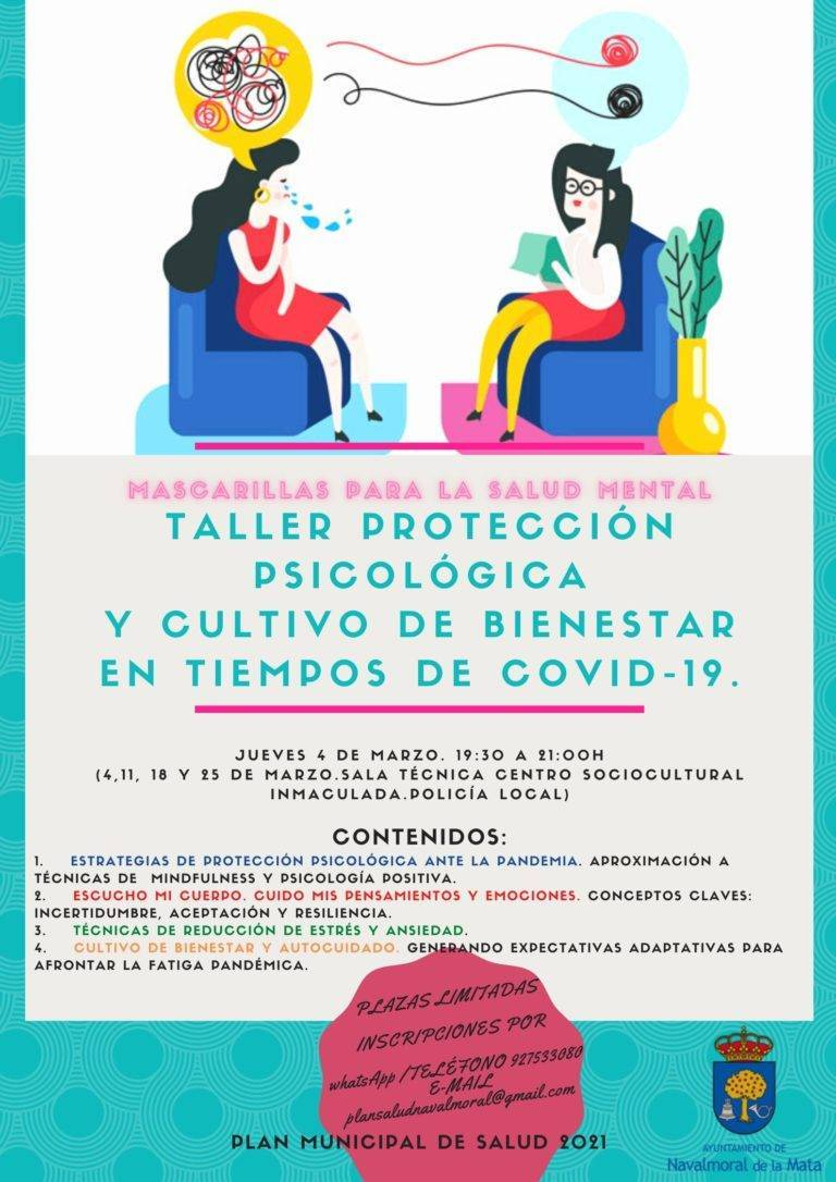 Taller de protección psicológica (marzo 2021) - Navalmoral de la Mata (Cáceres)