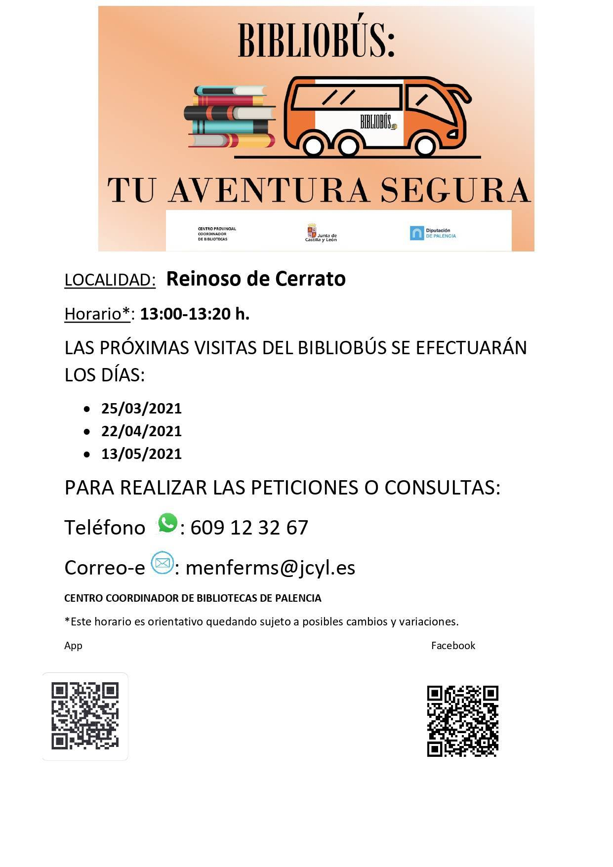 Bibliobús (2021) - Reinoso de Cerrato (Palencia)